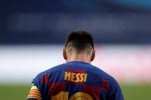 ميسي سيغادر برشلونة